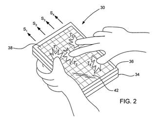 Illustration for article titled Apple Now Has a Patent on Their Capacitive Multitouch Displays