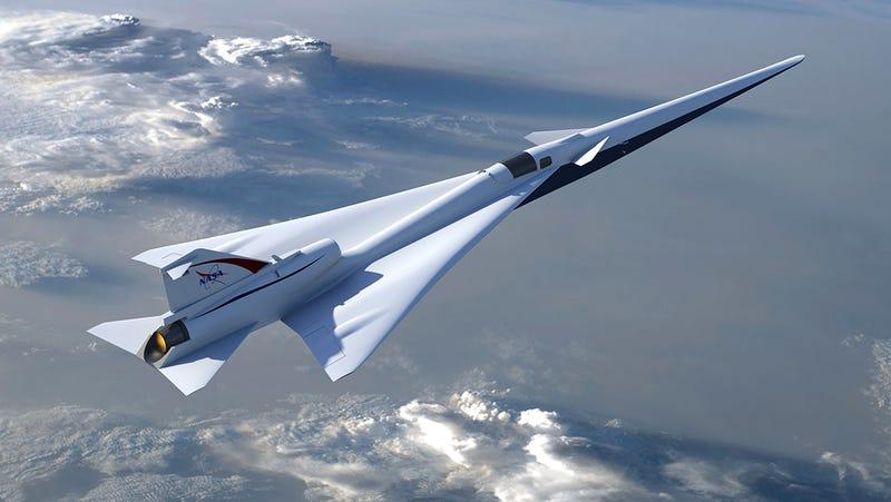 Ilustración que muestra el aspecto que tendrá el LBFD-X de la NASA. Foto: NASA