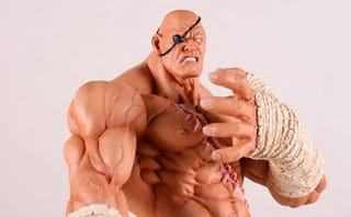 Illustration for article titled Sagat's Big Hands Are All The Better To [Something] You With