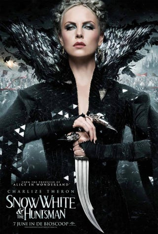 Illustration for article titled Snow White and the Huntsman International Posters