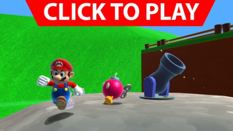 Illustration for article titled It's finally possible to play at least some of Super Mario 64 in HD