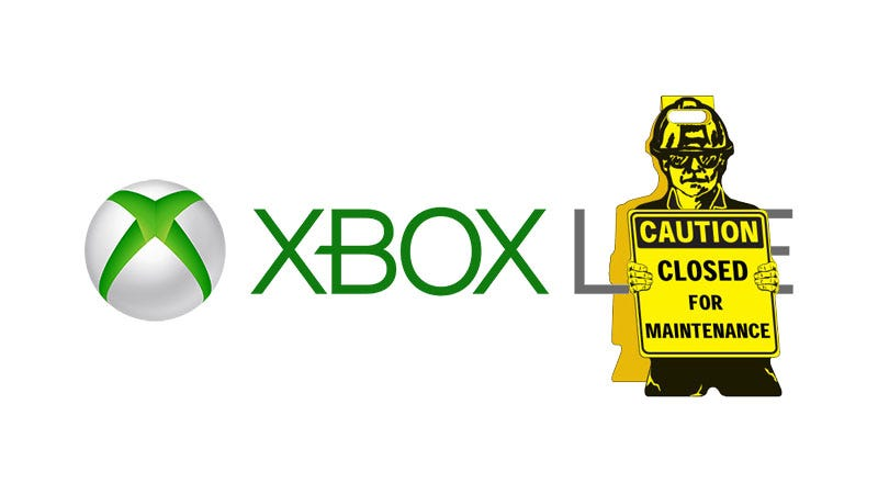 Illustration for article titled Xbox Live Is Down