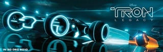 Illustration for article titled Tron Legacy Rolls Out The Light-Car