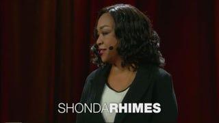 Shonda Rhimes at the February 2016 TED TalkTED Screenshot