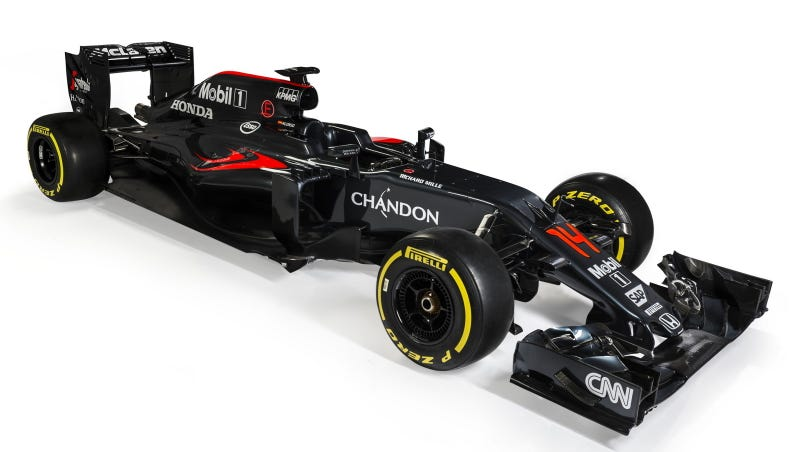 Illustration for article titled McLaren Added The Laziest Darth Maul Costume Ever To Their Newest F1 Car