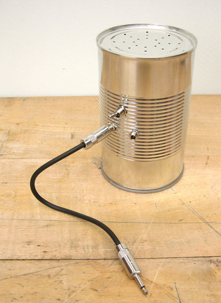 Illustration for article titled Speakers...In a Can