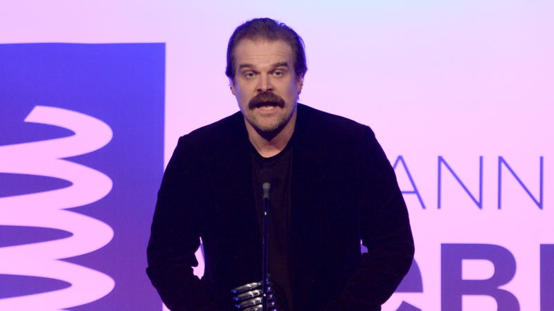 Illustration for article titled Stranger Things Actor David Harbour Calls Out 'Greedy Dickheads' Who Oppose Net Neutrality