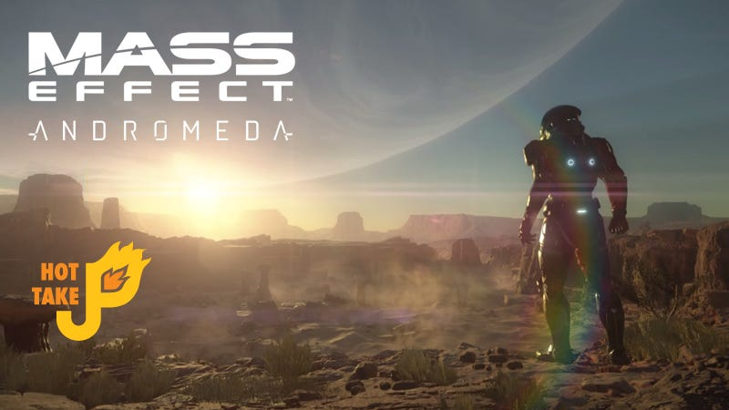Illustration for article titled Hot Take: Mass Effect: Andromeda (PS4, XBox One, PC)