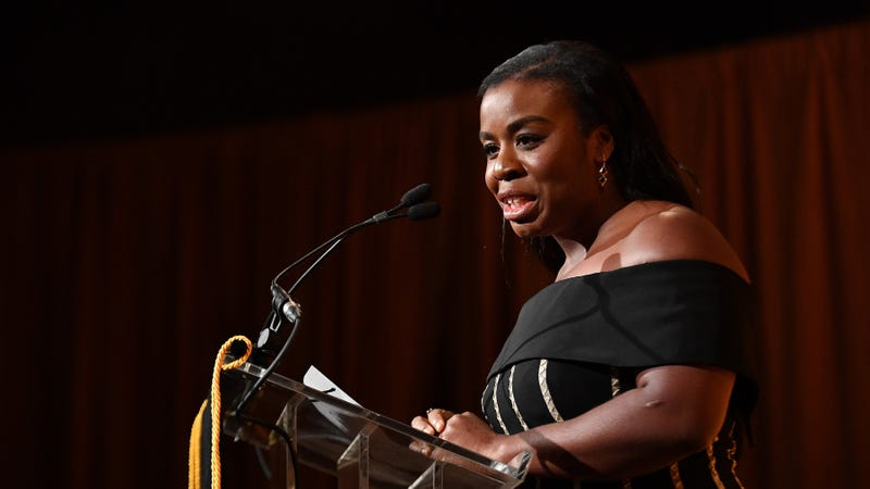 Uzo Aduba speaks onstage during The National Board of Review Annual Awards Gala on January 8, 2019 in New York City.