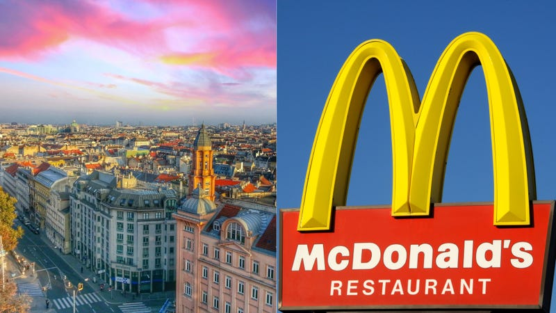 Illustration for article titled McDonald's in Austria can now connect you with the U.S. Embassy