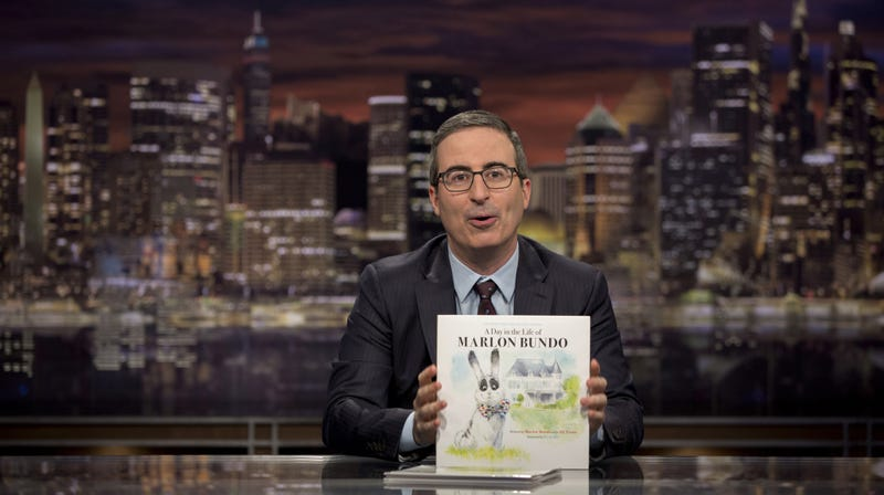 Last Week Tonight returns, and not a moment too soon