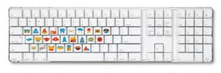 Illustration for article titled B Is for Bowie, A Is for Awesome Keyboard Stickers