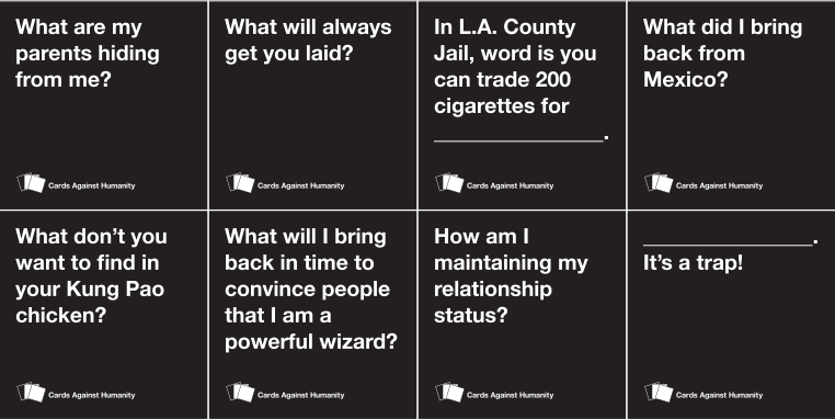 photo about Cards Against Humanity Printable called Playing cards Versus Humanitys Under no circumstances-Finishing Beat In opposition to Copycats