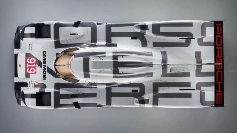 Illustration for article titled The Porsche 919 Le Mans Racer Actually Looks Amazing