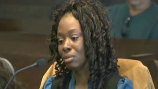 Crystal Mangum was convicted of second-degree murder in the stabbing death of her boyfriend.YouTube