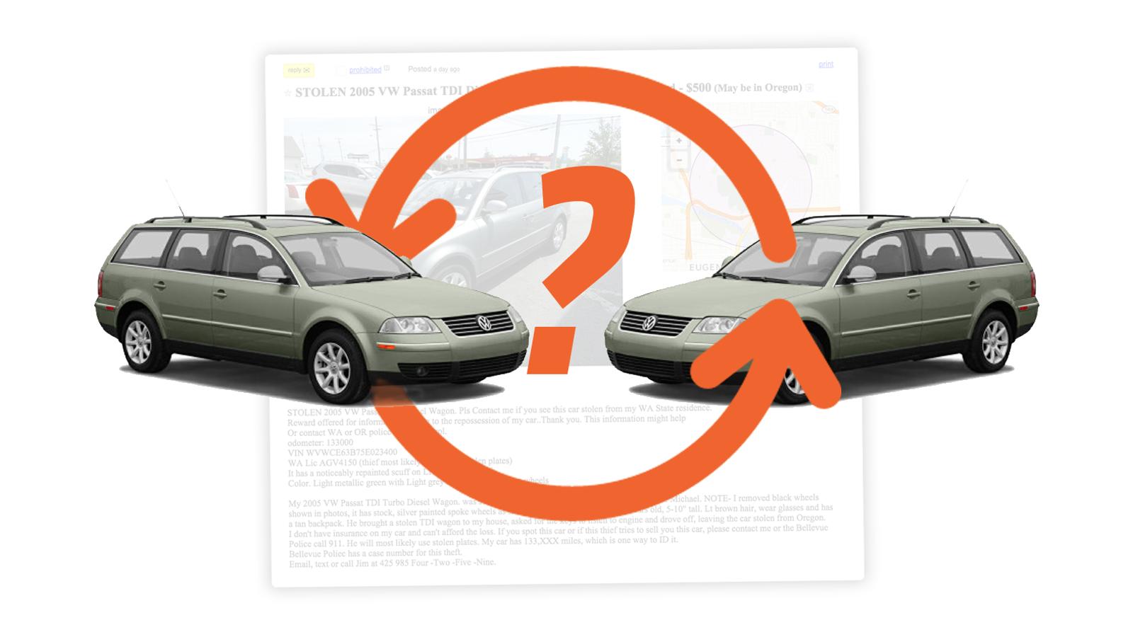 Who\'s Behind This Bizarre Chain Of Craigslist Volkswagen Passat TDI ...