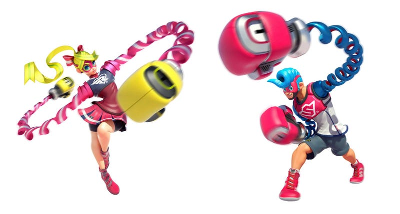 Illustration for article titled Arms Is A Weird New Boxing Game For The Switch