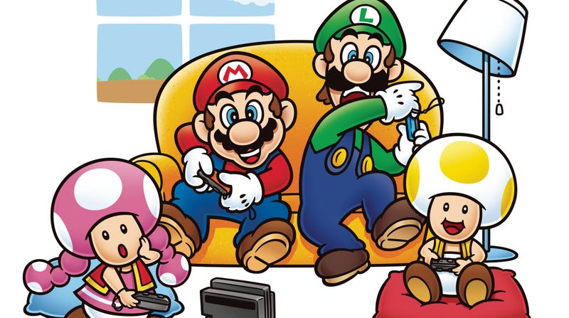 Illustration for article titled The Week In Games: Mario Brothers Of Days Past