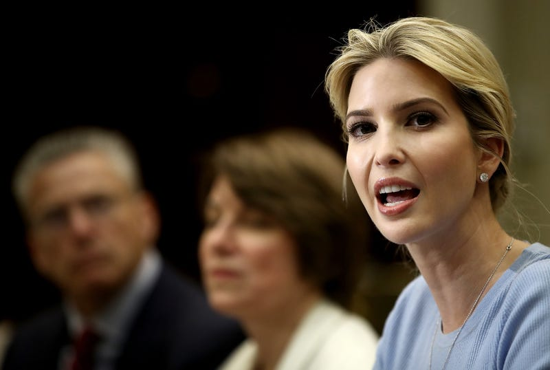Illustration for article titled Ivanka Trump on Her Father's 19 Sexual Assault Accusers: 'I Believe My Father'
