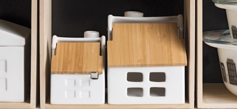 Now Designs Takenoko House Shaped Salt Keeper