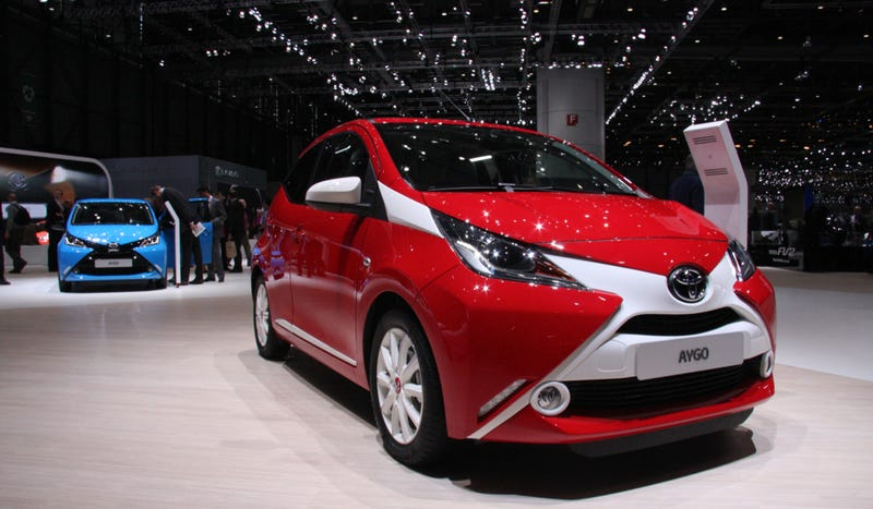 Illustration for article titled The Toyota Aygo Is Cool, Simple And Perfect For Americans