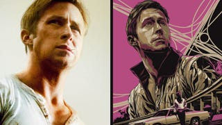 Illustration for article titled Gosling Fans, a Limited Edition Drive Print Will Totally Sex Up Your Apartment