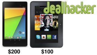 Illustration for article titled Nexus 7 & Kindle Fire HD, Logitech Harmony, GoPro Black [Deals]