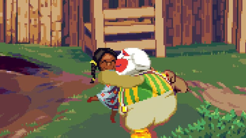 Dropsy, a game about a terrifying clown who loves hugging