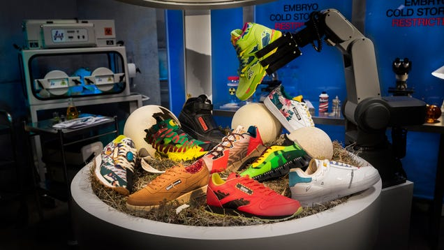 Reebok s New Jurassic Park Collection Just Stomped All Over Your Shoe Budget