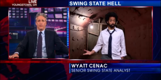 Wyatt Cenac on The Daily Show With Jon Stewart (Comedy Central)