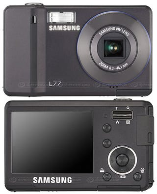 Illustration for article titled Samsung L77 Is One Skinny Shooter