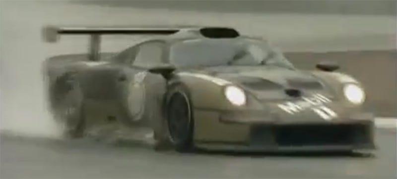 Illustration for article titled Porsche 911 GT1 In Naked Kevlar: How Porsche Developed The Cheater King
