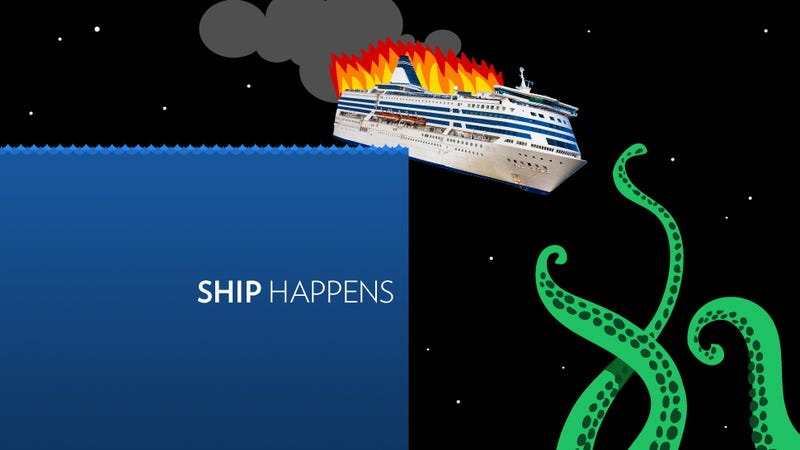 Illustration for article titled 10 Reasons Why Cruises Are Not Actually the Worst