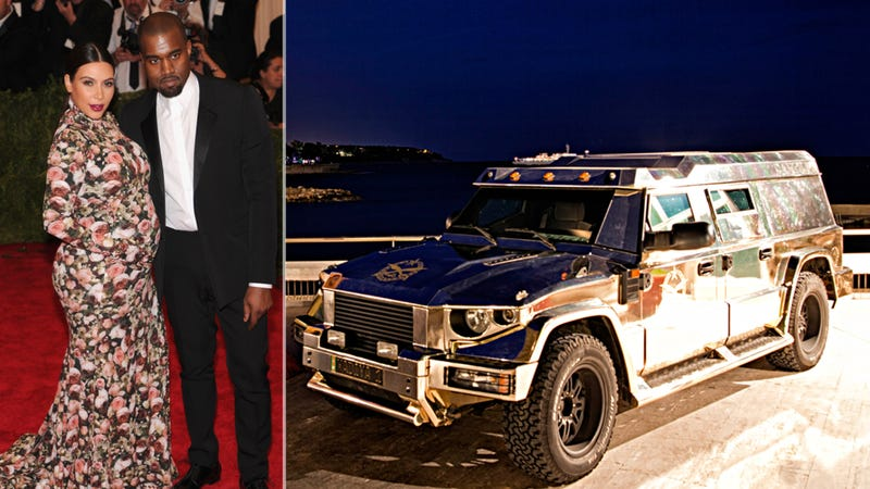 Illustration for article titled Kanye West Just Bought Two Of These Crazy Armored $1,000,000 SUVs