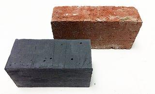 Illustration for article titled Este ladrillo negro es la solucióndel MITparaconstruir sin contaminar