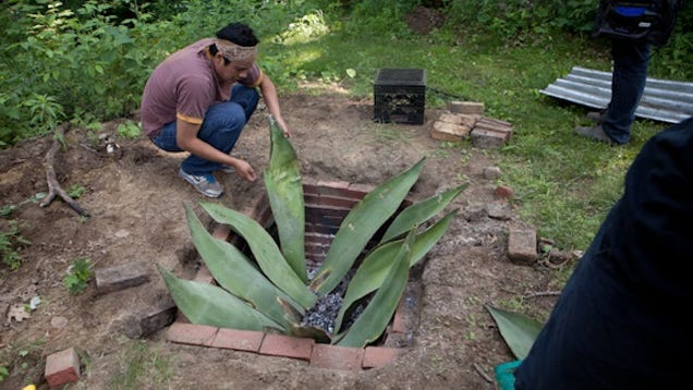 Build your own backyard fire pit for serious summer cooking for How do i build a fire pit