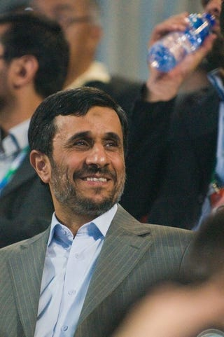Illustration for article titled Mahmoud Ahmadinejad Thinks Girls Should Marry At 16