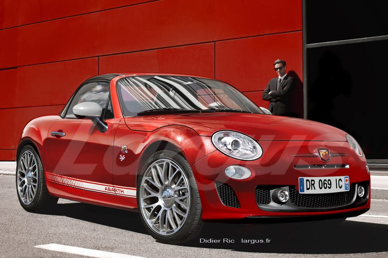 Abarth Roadster finally coming...