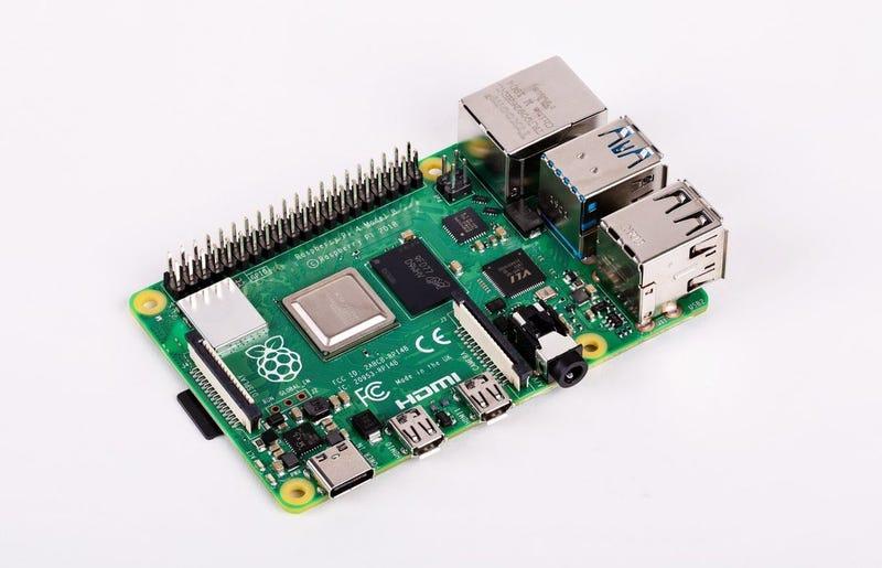 La Raspberry Pi 4.