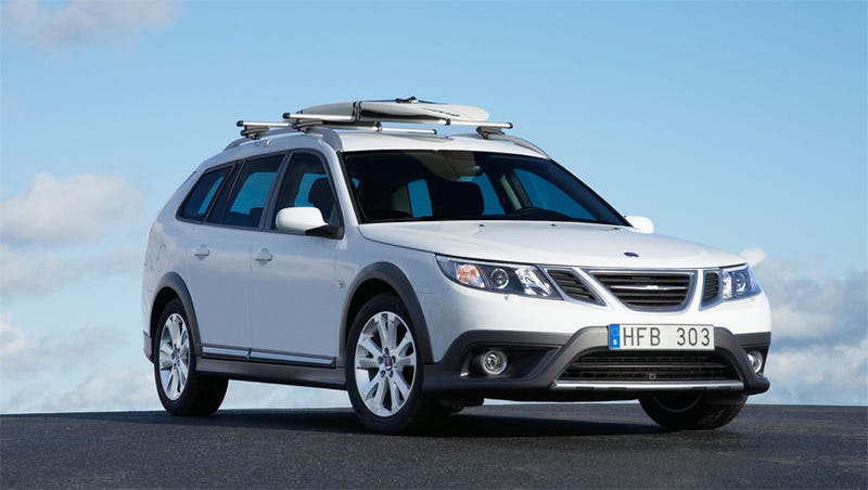 Illustration for article titled 2010 Saab 9-3X Bows Ahead Of Geneva