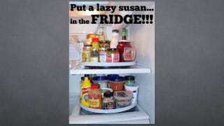 Illustration for article titled Organize Your Fridge With a Lazy Susan