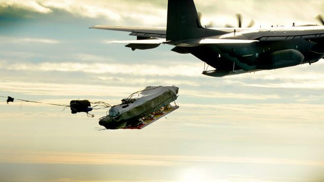 The Graceful Moment When a Commando Boat Goes Airborne