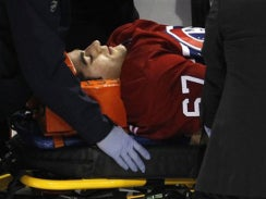 Illustration for article titled Max Pacioretty Was Seriously Injured In Last Night's Zdeno Chara Hit
