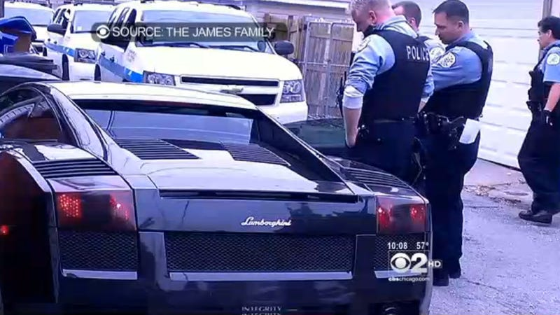 Illustration for article titled Lamborghini Police Chase Disrupts Family's Memorial Day Cookout