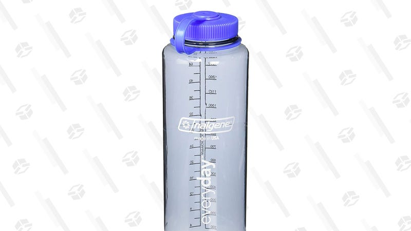 Nalgene HDPE 48oz Silo Wide Mouth BPA-Free Water Bottle | $6 | Amazon