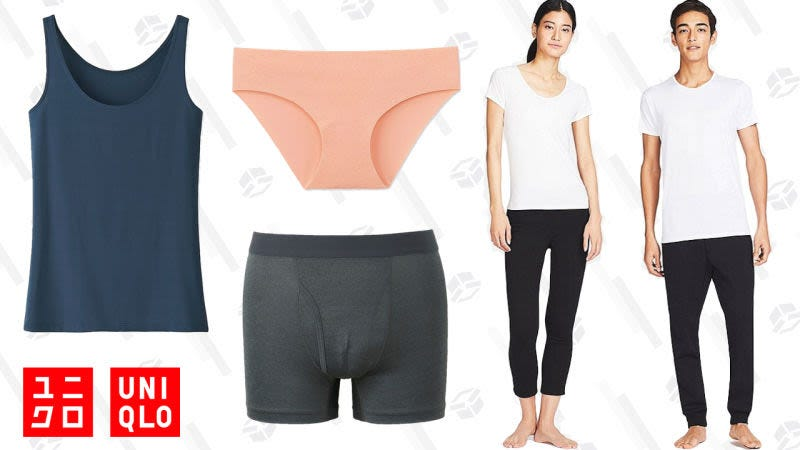Discounted AIRism for men and women | Uniqlo