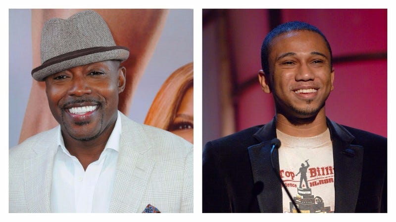 Packer (L) at the premiere of Girls Trip; McGruder (R) in 2007. (Photos: Barry King/ Stephen Shugerman/ Getty Images)