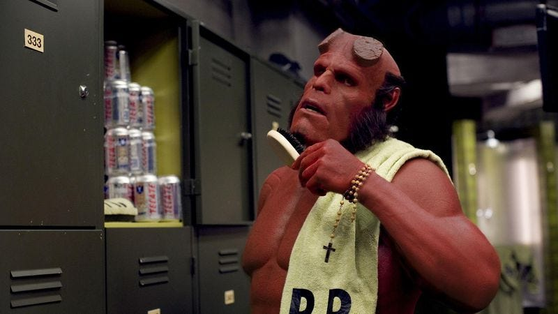 Ron Perlman doesn't want to make Hellboy 3, the movie he keeps trying to make