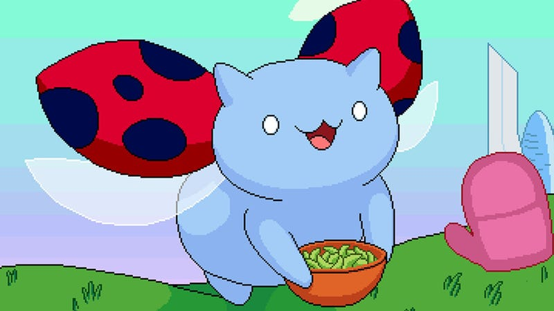 Illustration for article titled Catbug Flies Away With Your Free Time In His New Mobile Game