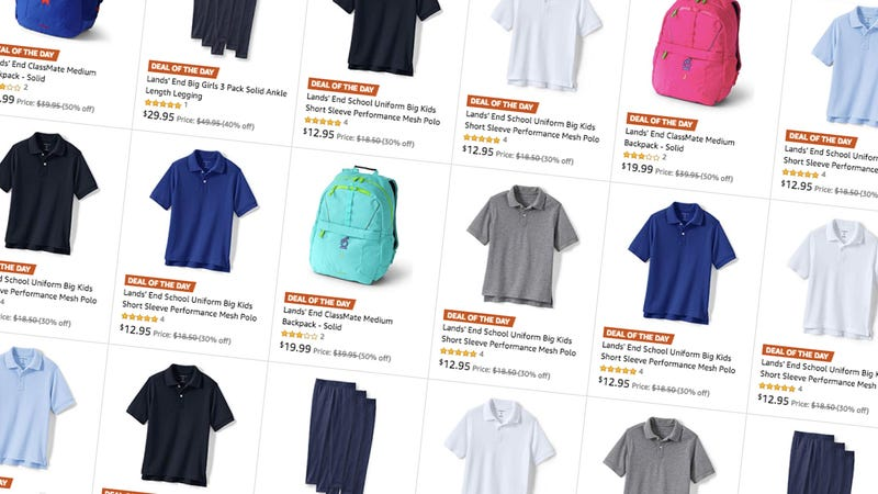 Get Back To School Basics For The Kids With This One Day Lands End Sale